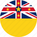 flag, island, niue icon