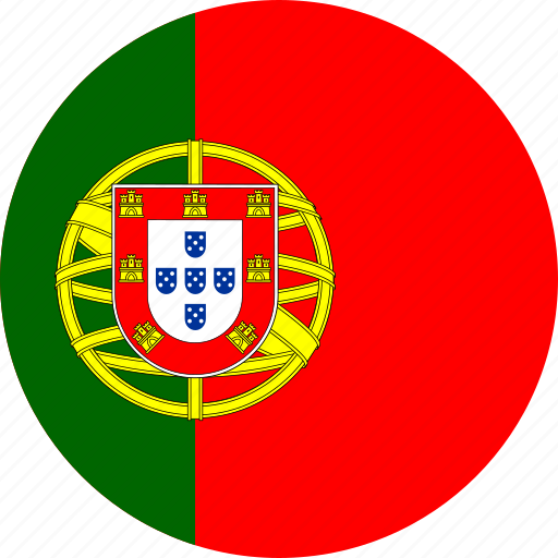 circle, circular, country, flag, flag of portugal, flags, national, portugal, portugal flag, round, world icon