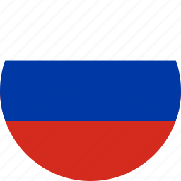 circle, circular, country, flag, flag of russia, flags, national, round, russia, russia flag, world icon