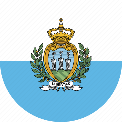 Image result for san marino circle flag