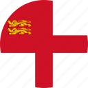 circle, circular, country, flag, flag of sark, flags, national, round, sark, sark flag, world icon