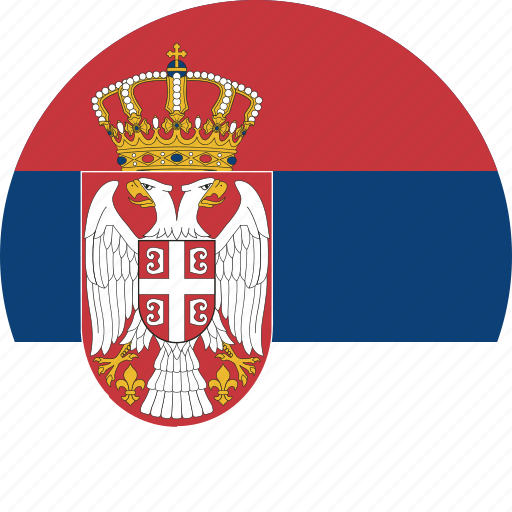 Image result for serbia flag circle