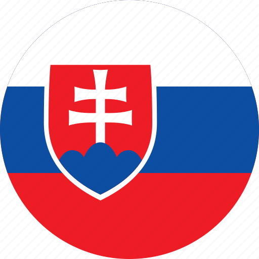 Image result for slovakia circle flag