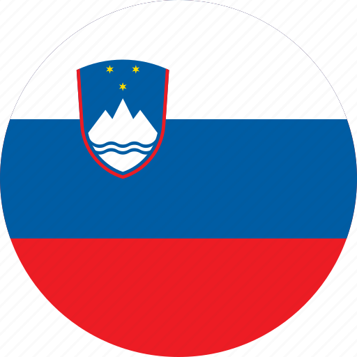 Image result for slovenia circle flag""