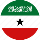 circle, circular, country, flag, flag of somaliland, flags, national, round, somaliland, somaliland flag, world icon