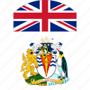 antarctic, british, british antarctic, british antarctic territory, circle, circular, country, england, flag, flag of british, flags, national, round, territory, uk, world icon
