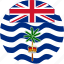 british, british indian, british indian of ocean, circle, circular, country, flag, flag of british, flags, indian, national, ocean, ocean territory, round, territory, world icon
