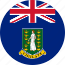 british, british virgin, british virgin islands, circle, circular, country, flag, flag of british, flags, islands, national, round, virgin, world icon