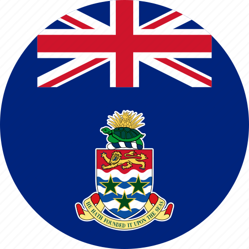 cayman, cayman islands, circle, circular, country, flag, flag of cayman, flags, islands, national, round, world icon