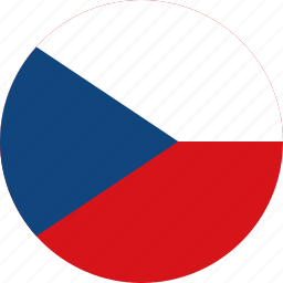 circle, circular, country, czech, czech republic, flag, flag of czech, flags, national, republic, round, world icon