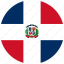 dominican, republic, flag