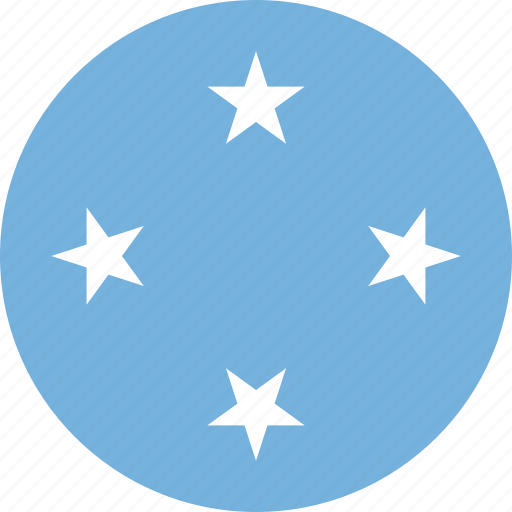 circle, circular, country, federated, flag, flag of islands, flags, islands of, islands of of the, micronesia, national, round, states, states of, states of micronesia, the federated, the federated of states, world icon