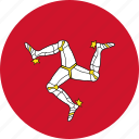 circle, circular, country, flag, flag of the, flags, isle, man, national, of man, round, the isle, the isle of of, world icon