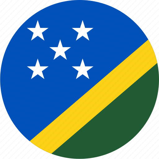 circle, circular, country, flag, flag of solomon, flags, islands, national, round, solomon, solomon islands, world icon