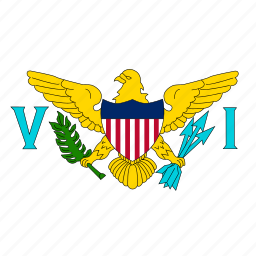 america, circle, circular, country, flag, flag of united, flags, islands, national, round, states, united, united states, united states of virgin, us, usa, virgin, virgin islands, world icon