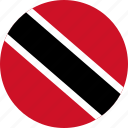 trinidad, tobago, flag, and