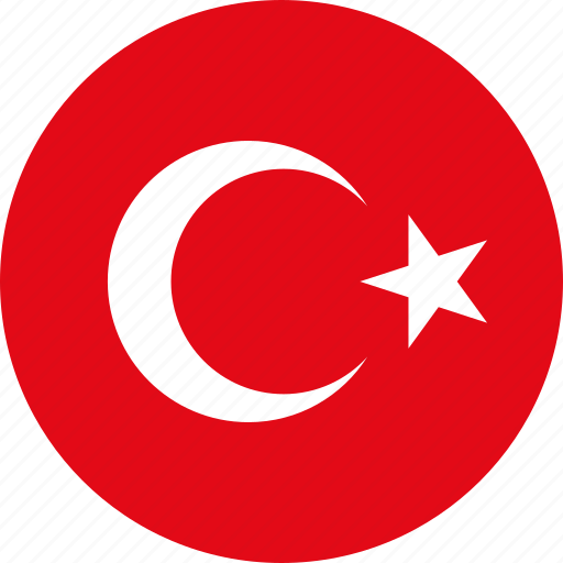 Image result for turkey circle flag
