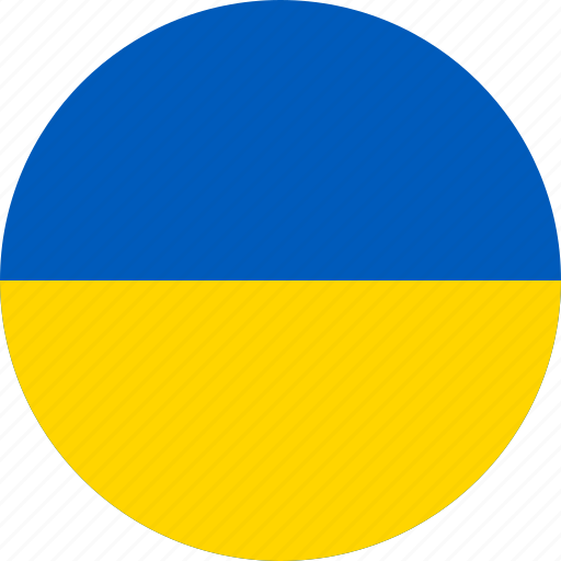 Image result for ukraine flag circle