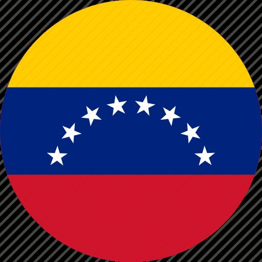 Slikovni rezultat za circle flag venezuela