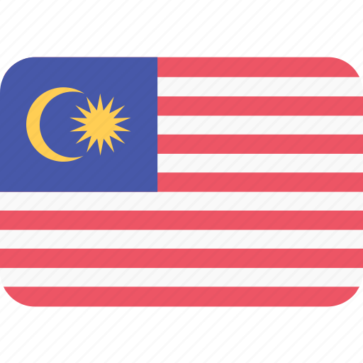 Asia, asian, country, flag, flags, malaysia, national icon - Download on Iconfinder