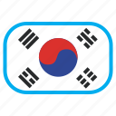world, flag, national, country, south korea, flags icon