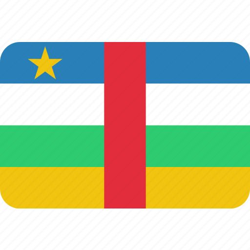 African, central, country, flag, national, republic icon - Download on Iconfinder