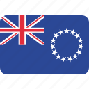cook, islands, flag
