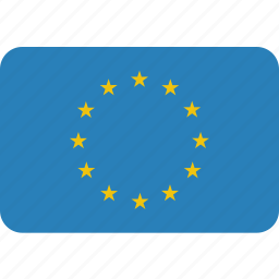 eu, europe, european, flag, union icon