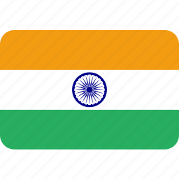 country, flag, india, indian, national icon