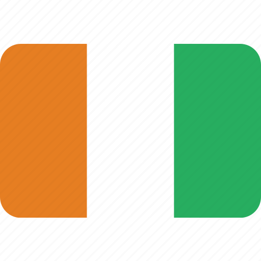 coast, cote, country, divoire, flag, ivory, national icon