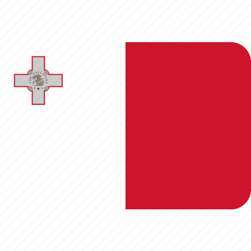 country, flag, malta, national icon