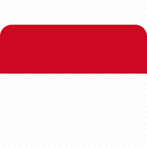 country, flag, monaco, national icon