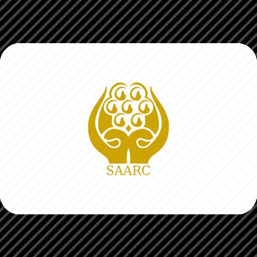 flag, saarc icon