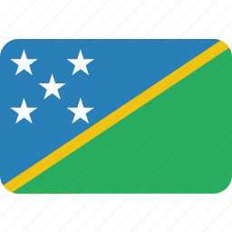 country, flag, islands, national, solomon icon