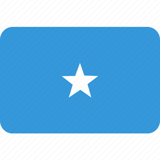 country, flag, national, somalia icon