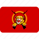 country, eelam, flag, national, tamil icon