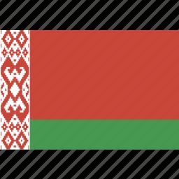 belarus, flag icon