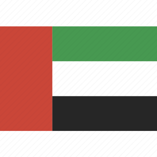 arab, emirates, flag, uae, united icon