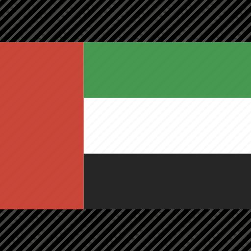 arab, emirates, flag, uae, united icon