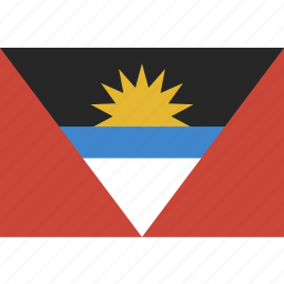 and, antigua, barbuda, flag icon