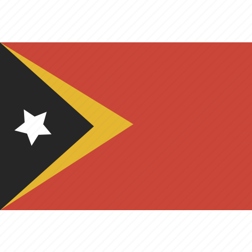 east, flag, leste, timor icon