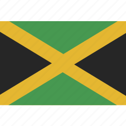 flag, jamaica icon