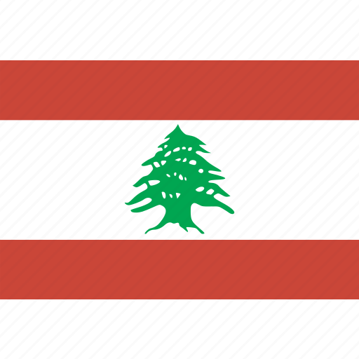 flag, lebanon icon