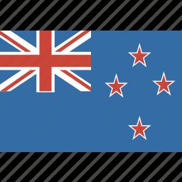 flag, new, zealand icon