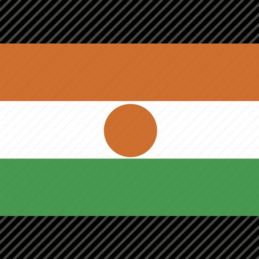 flag, niger icon