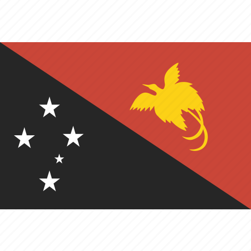 flag, guinea, new, papua icon