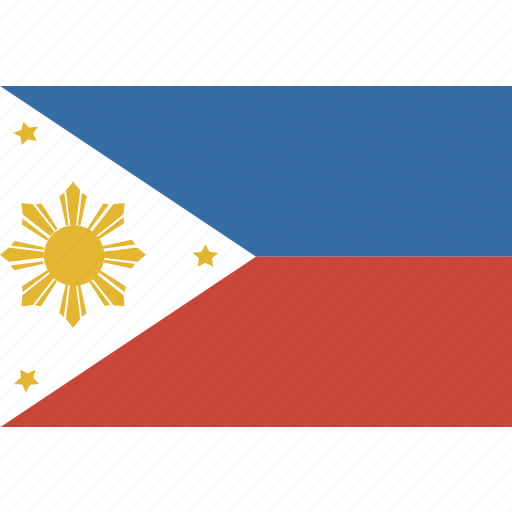 flag, phillipines icon