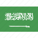 arabia, flag, saudi icon