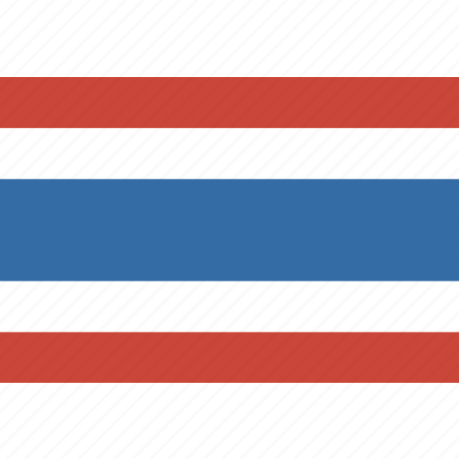 flag, thailand icon