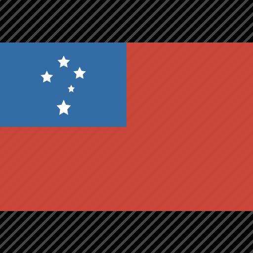 flag, samoa icon
